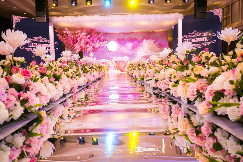 粉色系婚礼|炸裂你的少女心